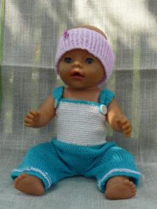 Baby- und Puppenkleidung